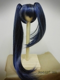 BJD Doll Wig 7-8 Black Rock Shooter