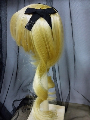 BJD Doll Wig 8-9 Miku Gold(1)