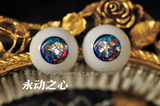 熊本 Acrylic Eyes #03 18-20mm Handmade