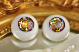 *熊本*Acrylic Eyes #01 12-20mm Handmade