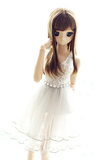 BJD Light Grey Lace dress 1/3 1/4