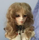 BJD Hair Wig Natural Mohair DF-3DW013
