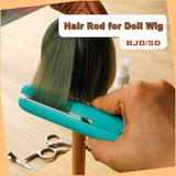 Hair Straightener/ Flat Iron for Doll Wig- two way use